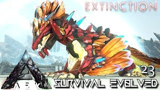 ARK: EXTINCTION - ROCK DRAKE IN EXTINCTION !!! | ARK SURVIVAL EVOLVED GAMEPLAY E23