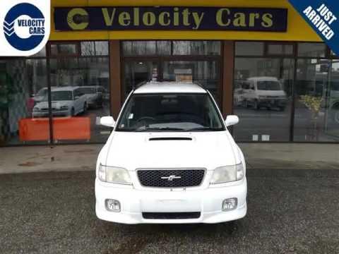 Vancouver Velocity Cars Bc 2000 Subaru Forester Sti
