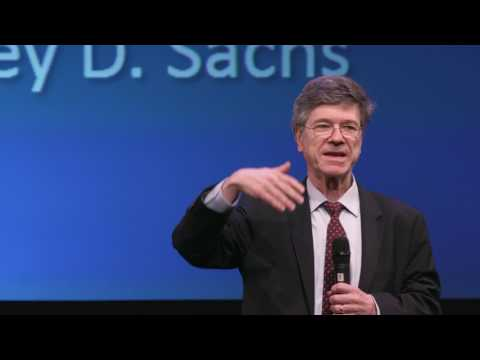 Jeffrey Sachs Keynote - Choices Energy Policy Climate | StartupColumbia 2017