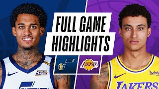 JAZZ at LAKERS | FULL GAME HIGHLIGHTS | April 17, 2021