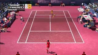 Virtua Tennis 2009 Online Singles live play#3