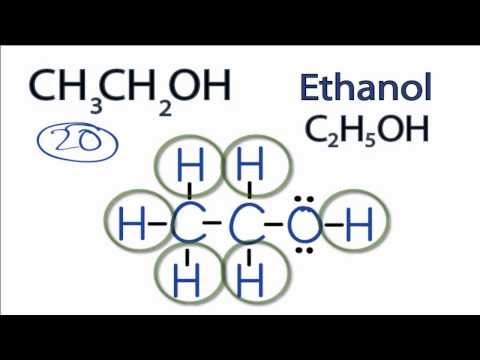 CH3CH2OH Lewis Structure: How to Draw the Lewis Structure for CH3CH2OH
