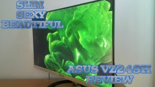 thin and beautiful -  Asus VZ249H monitor review