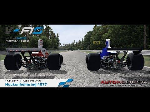 *onboard* F1 Retro Cup - Race#3 Hockenheimring [virtualracing.org]
