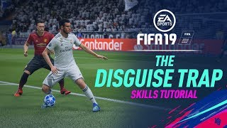 FIFA 19 Skills Tutorial | Disguise Trap (Spin Turn & First Touch)