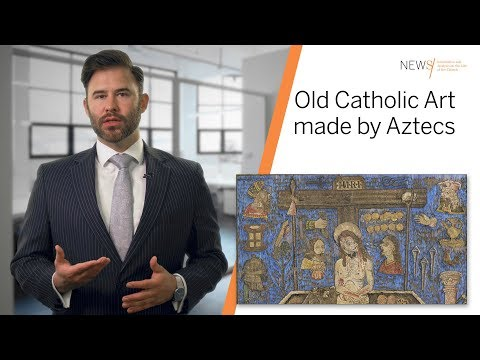 Oldest Piece of Catholic Art made in North America