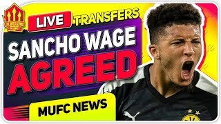 Sancho Wages Already AGREED! + Cavani STILL Leaving!| Man Utd News