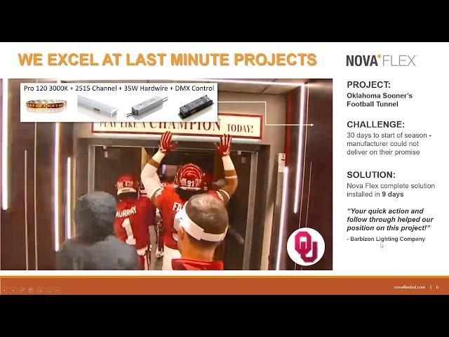 Nova Flex LED Introduction