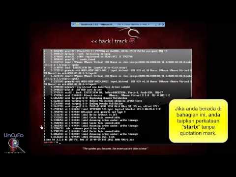 Cara-Cara Install backtrack 5 R3 Menggunakan VMware Player Dengan ...