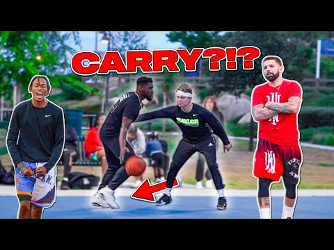 I SHUT DOWN THE PARK ON GAME POINT!! Carry or NO?? (Park 5v5) |
