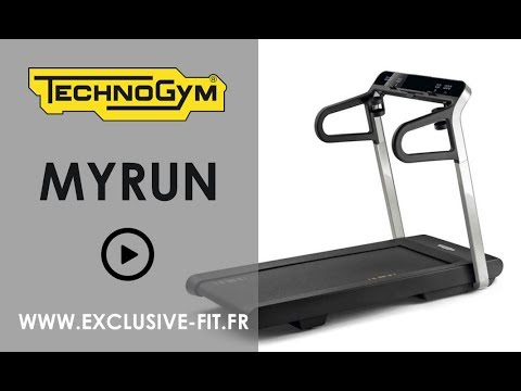 tapis de course technogym myrun exclusive fit