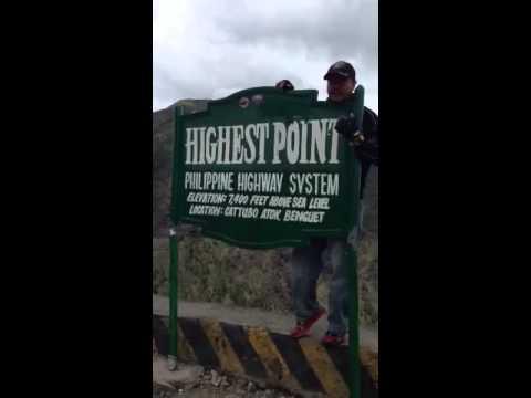 Philippine highway system highest point