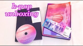 K-POP РАСПАКОВКА BTS WORLD OST ALBUM | [UNBOXING]