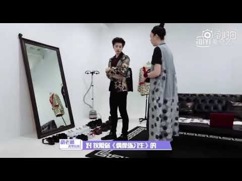 [BTS] Cai Xu Kun 蔡徐坤 Preparing for WAIT WAIT WAIT Stage on Idol Hits