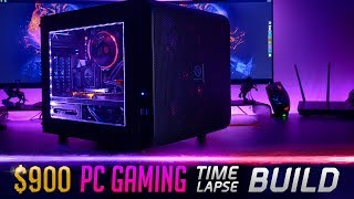 $900 Gaming PC - Time Lapse Build