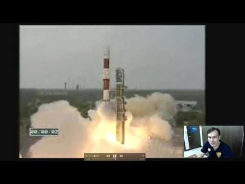 India ISRO Rocket Launch Watched By Two UFOs, Sept 27, 2015, Video, UFO Sighting News.
