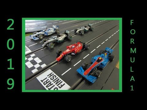 2019 Formula 1 Digital Slot Car League Race 1 Melbourne Australia