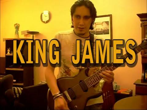 KING JAMES COVER BUCKETHEAD