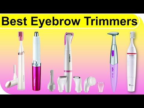 top-10-best-eyebrow-trimmers-you-can-try-|-2018