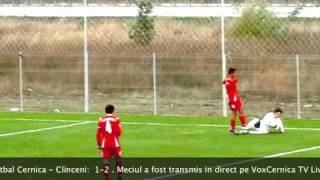 Progresu Cernica - Clinceni. 1-2. 8 octombrie 2010