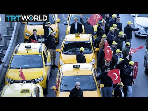 Uber vs Taxis: Istanbul taxi drivers seek court ban of app