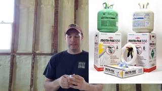 Froth pak 620 review. DIY project.
