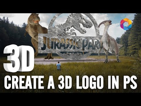 Convert a 2D Logo into 3D In Photoshop