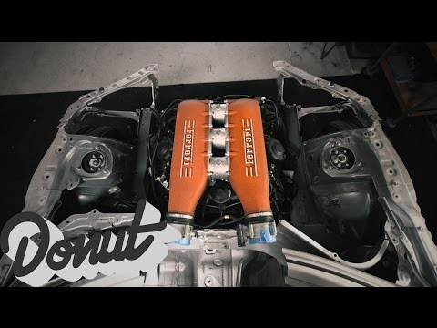 Ferrari + Toyota = JDM Supercar (Ryan Tuerck x Gumout) | Donut Media