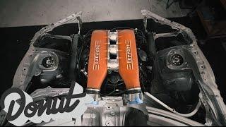 Ferrari + Toyota = JDM Supercar (Ryan Tuerck x Gumout) | The GT4586 | Donut Media thumbnail