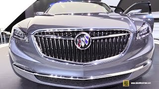 Buick Avenir Concept - Exterior and Interior Walkaround - 2015 Detroit Auto Show