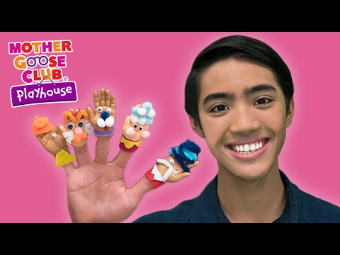 Thumbnail: DIY Baby Hand Puppets Craft | Surprise Egg Finger Family | Mother Goose Club Playhouse Kids Video