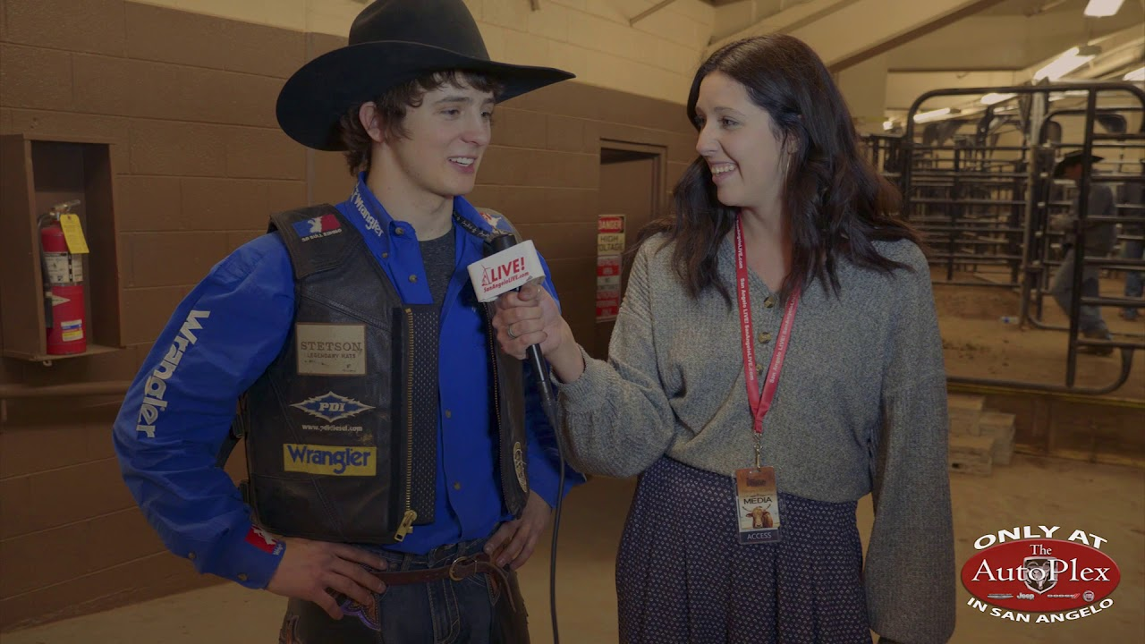 2598ba43fa57b Stetson Wright Keeps Family Tradition with Lead-Tying Bull Ride at San  Angelo Stock Show and Rodeo
