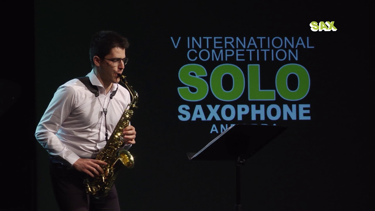 JOSÉ MANUEL RIBERA - 2nd ROUND - V ANDORRA INTERNATIONAL SAXOPHONE COMPETITION 2018