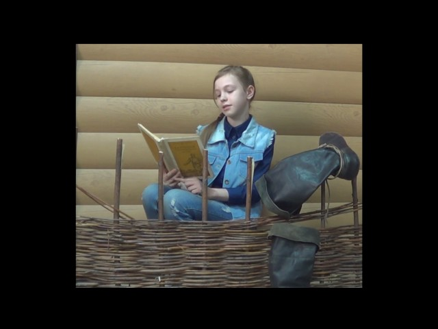 Изображение предпросмотра прочтения – ТаняДузь читает произведение «Крестьянские дети» Н.А.Некрасова