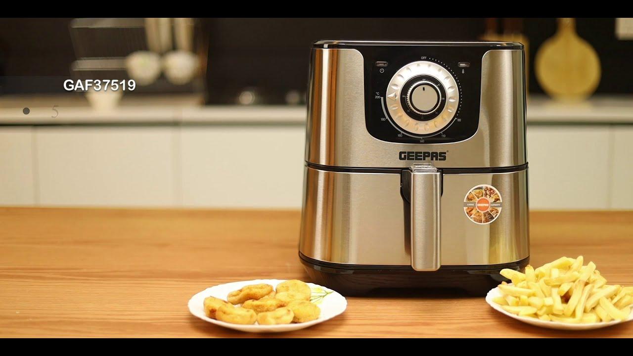 GAF37519 Air Fryer/5.5L/Oil Free/Timer/1700W - French Food