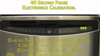 GE DISH Factory Test Mode Custom7