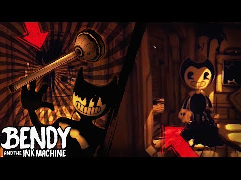 NEW TOOL - PLUNGER & FLIPPED MAP | Bendy and the Ink Machine [Chapter 1 Reversed] +Updates