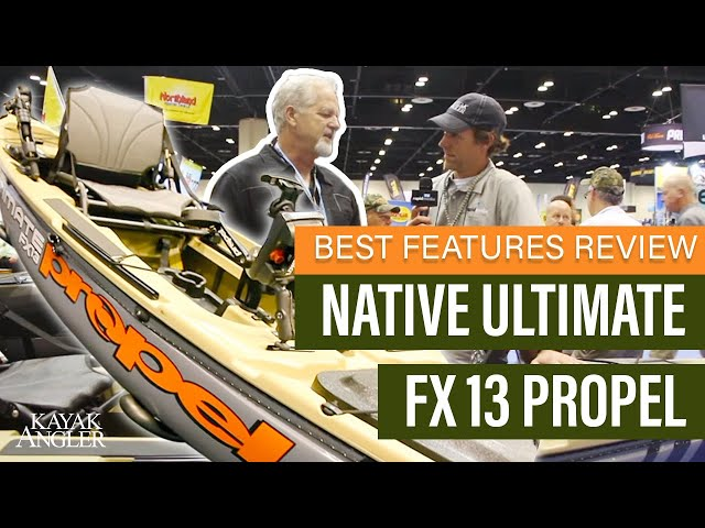 Native Ultimate FX 13 Propel 🎣 Fishing Kayak 📈 Specs & Features Review and Walk-Around 🏆