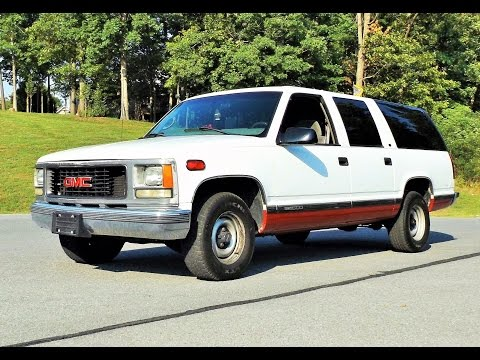 Review Of 1993 Gmc Suburban Sle 2500 Dually Same Truck