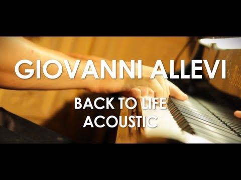Giovanni Allevi - Back To Life - Acoustic [ Live in Paris ]