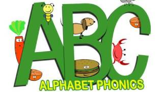 The Alphabet Song in Phonics