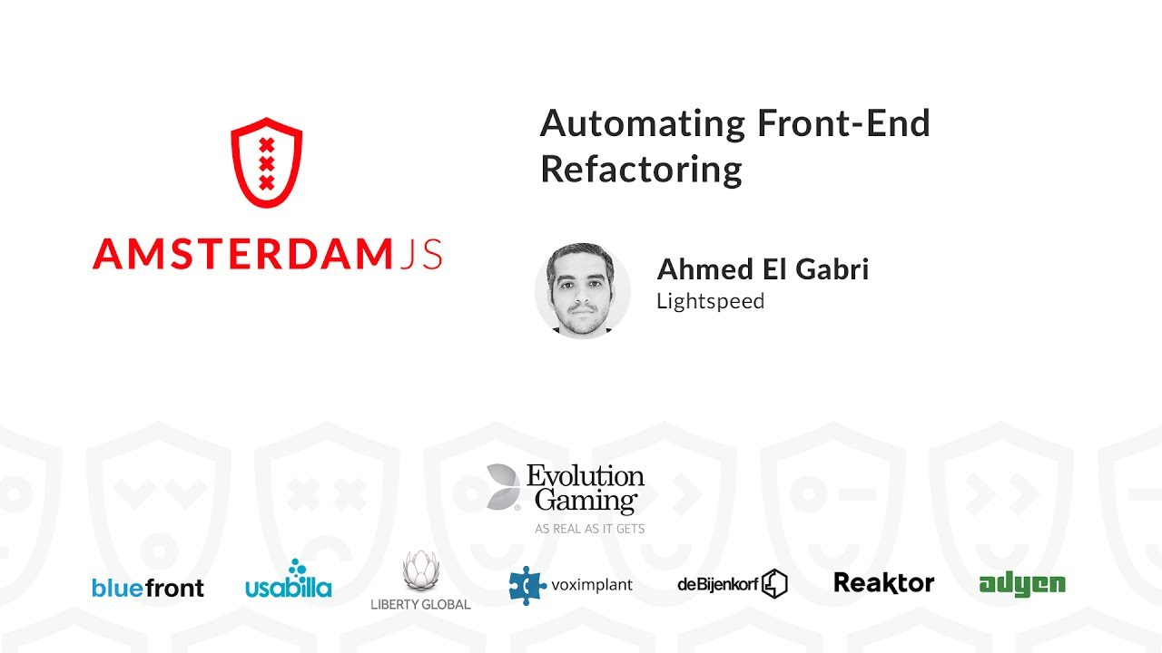 Automating Front-End Refactoring – Ahmed El Gabri