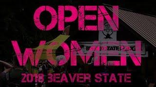 Open Women of 2018 Beaver State Fling