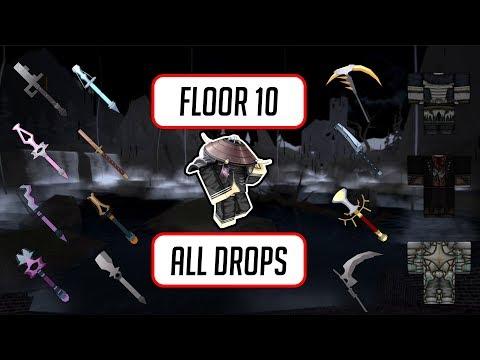 Floor 10 All Drops and Item Stats ◆ Swordburst 2 Transylvania ◆ Roblox All  Drops #5