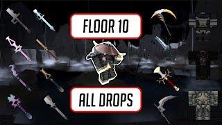 Étage 10 Toutes les gouttes et les statistiques de l'article - Swordburst 2 Transylvanie - Roblox All Drops #5
