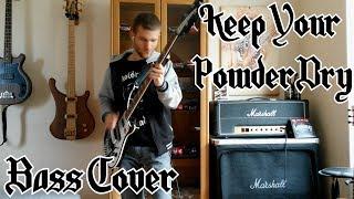 Motörhead - Keep Your Powder Dry [BASS COVER]