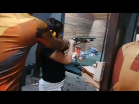 VALENTINE'S DATE : SHOOTING RANGE | PIZZA | SIMPLE LIFE IN MANILA