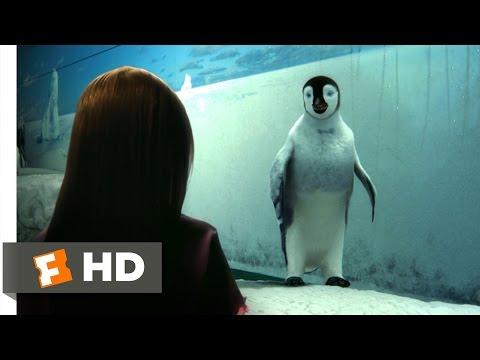 Happy Feet (9/10) Movie CLIP - Mumble Makes Contact (2006) HD