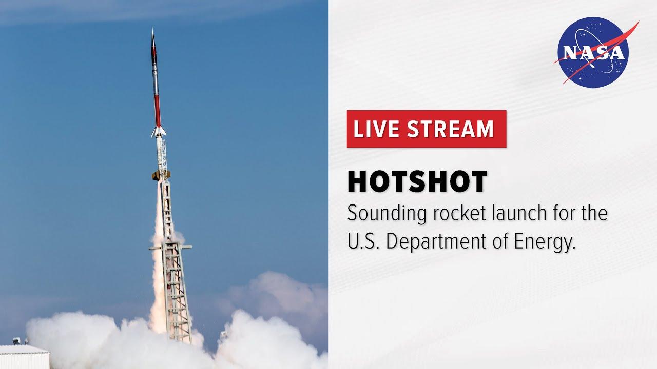 HOTShot Sounding Rocket Launch