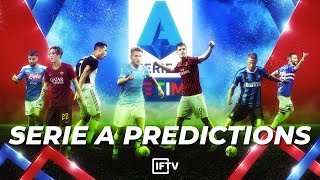 OUR 2019/20 SERIE A PREDICTIONS | CAN INTER PULL IT OFF?!